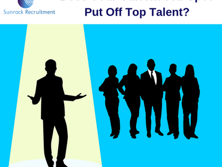 Does Your Current Job Spec Put Off Top Talent?
