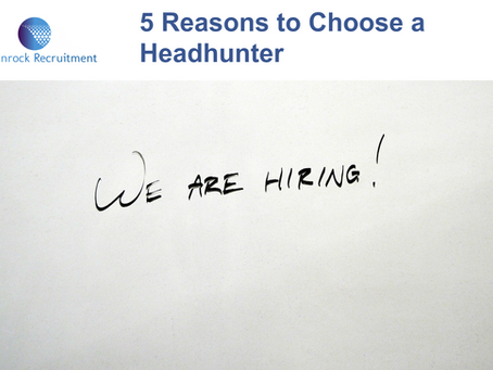5 Reasons to Choose a Headhunter