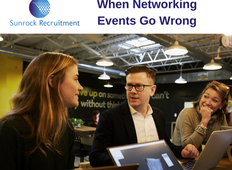 When Networking Events Go Wrong