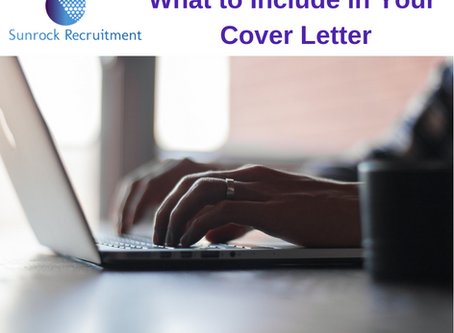 What to Include in Your Cover Letter