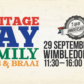 Did you attend last year's SA Heritage Day? If not, here's what a taster of what to expect this year