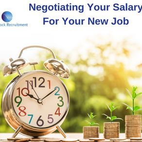 Negotiating Your Salary For Your New Job