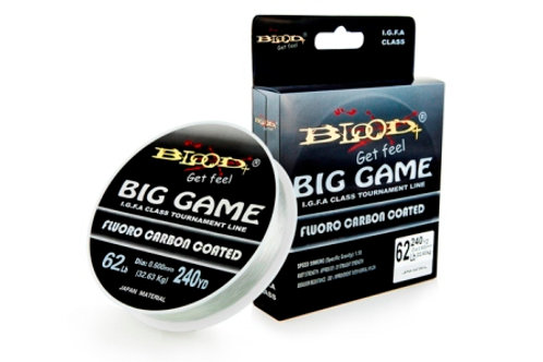 BLOOD BIG GAME  0.40 mm / 41 Lb