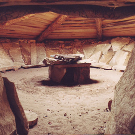 Earth lodge Findhorn Foundation
