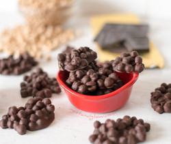 chocolate covered chic peas