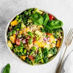 kale edadame salad