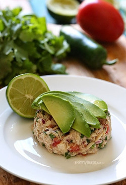 canned tuna ceviche