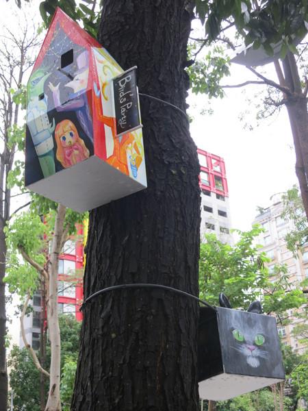 台中勤美綠圈圈夏日藝術祭_為城市加溫_百鳥開店計畫@克里斯多插畫森林_31