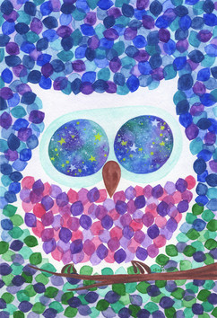 林中夜梟 The Forest Owl