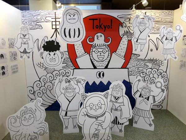 2014台中微笑吧夏天青春插畫設計展@克里斯多插畫森林_26