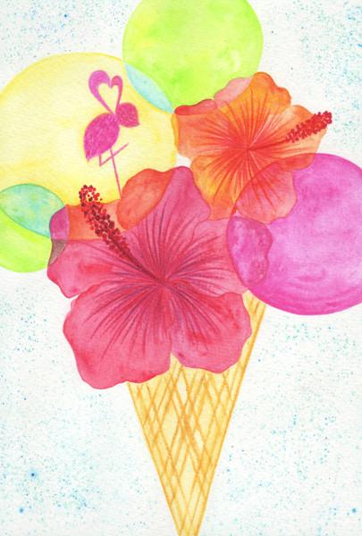 hibiscus@克里斯多插畫森林