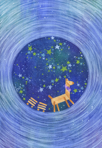 star@克里斯多插畫森林