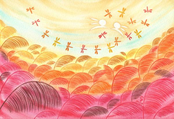 autumn@克里斯多插畫森林