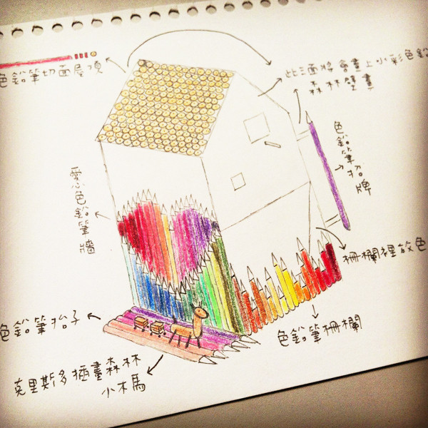 台中勤美綠圈圈夏日藝術祭_為城市加溫_百鳥開店計畫@克里斯多插畫森林_25