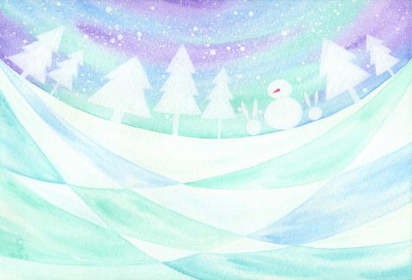 winter@克里斯多插畫森林