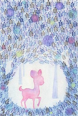 小鹿森林 Deer in the Forest