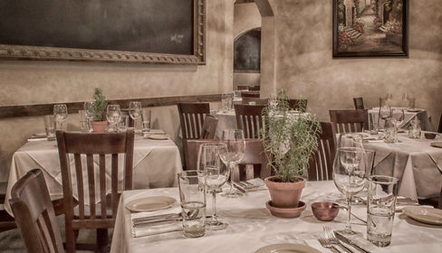 Trattora Dining Room