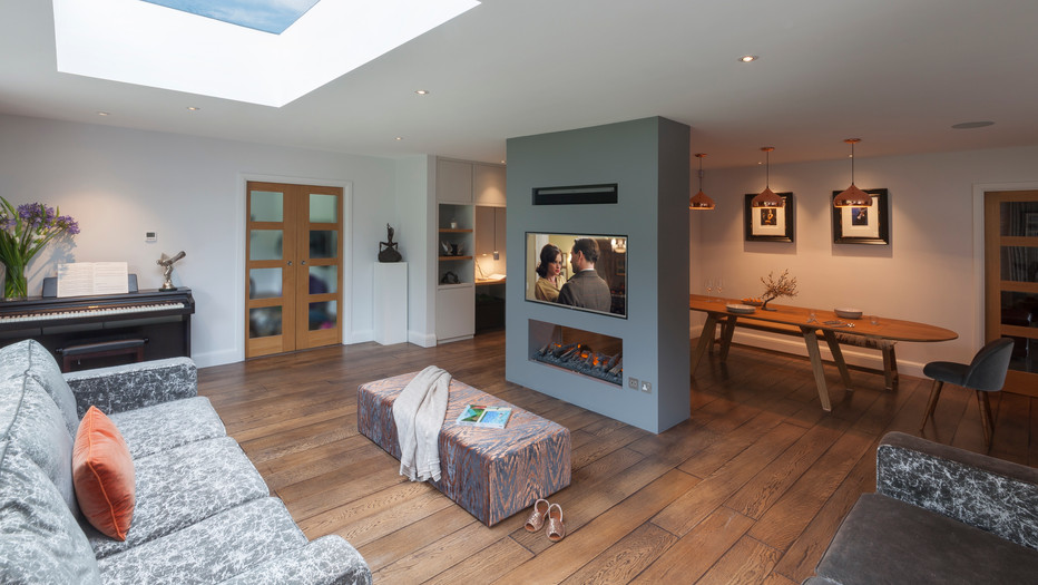 Esher 1970 House refurbishment and extension