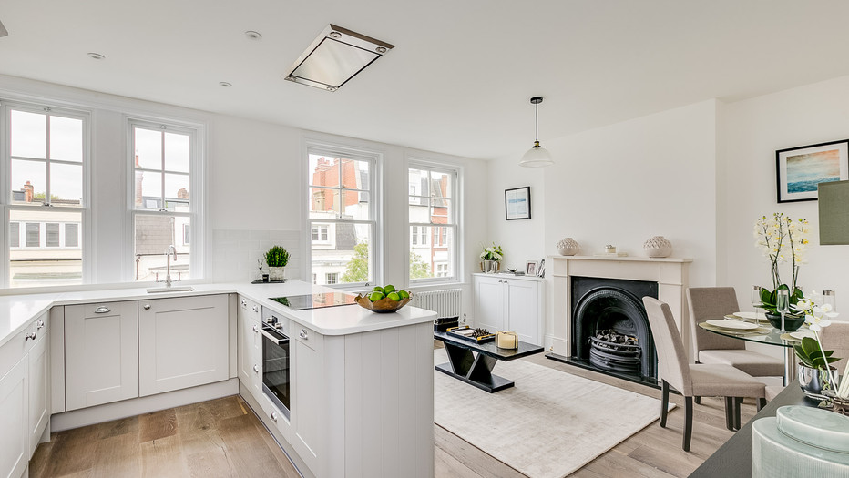 Fulham townhouse conversion