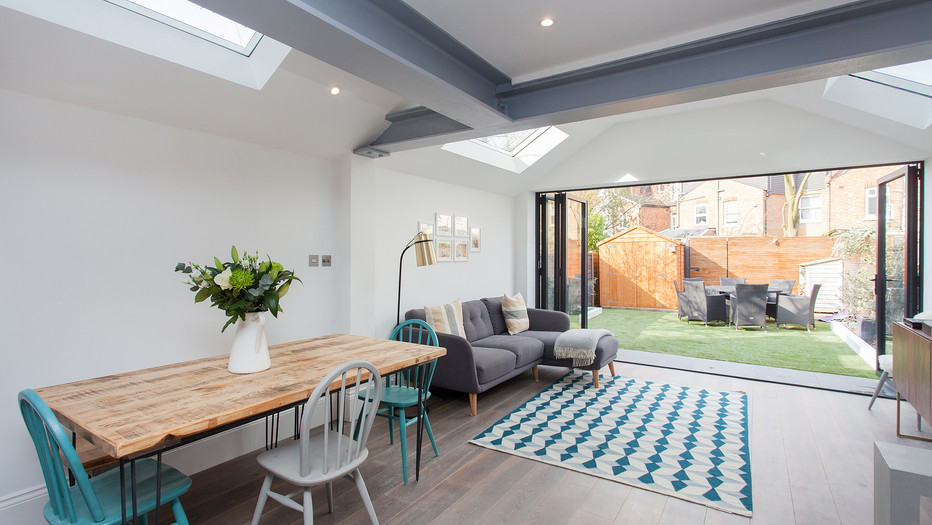 Industrial mid terrace extension