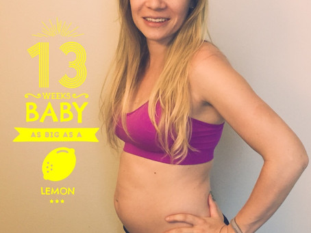 My Lifestyle Changes in the First Trimester