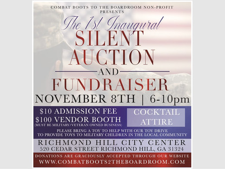 Inaugural Silent Auction and Fundraiser