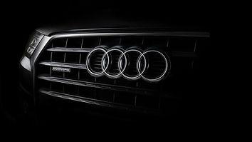 Dark-Audi-Logo-Background-Wallpaper-4341