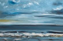 'Rolling in' Cley beach