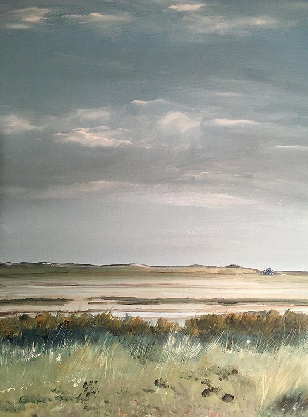 'There is s stillness' Morston Blakeney