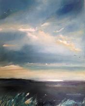 'Marsh light at dusk' Morston marshes