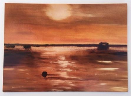 'Harbour sunset'