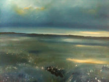 'Marsh colour' Morston marshes