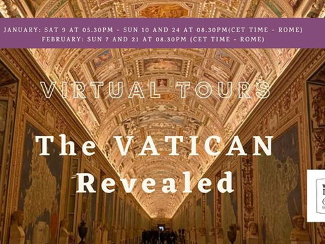 Virtual Travel Experiences - Valuable Learning and the Vatican Revealed