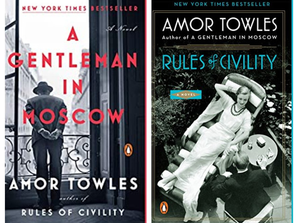 A Life in Books: Chapter One Amor Towles