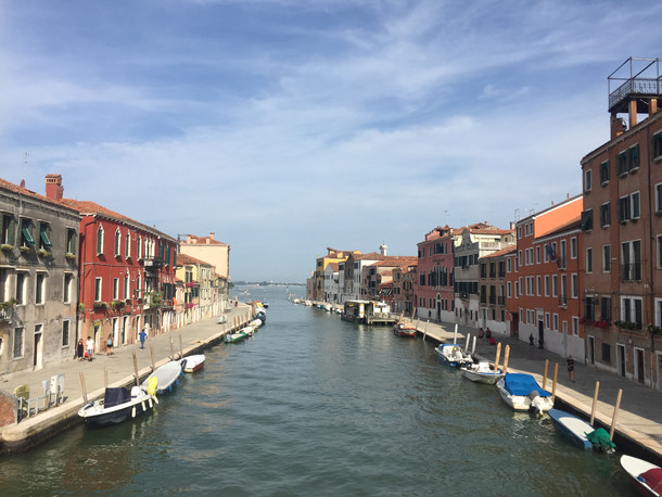 Venice & the mysteries of love in the time of Covid