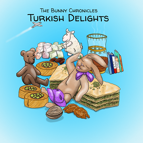 T1: Turkish Delights front cover