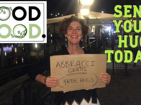 Social distancing - send your FREE HUG today!
