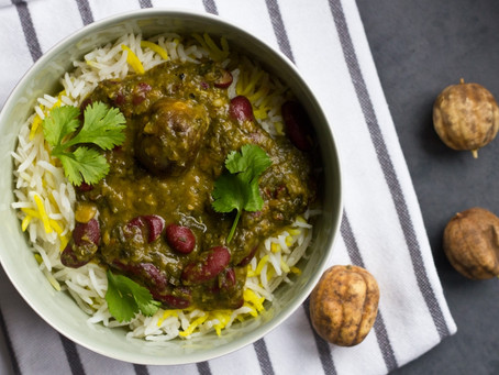 A Nowruz recipe to Celebrate the New Year, the Coming of Spring & Every day Living