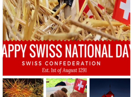 August 1st Happy Swiss Independence day!