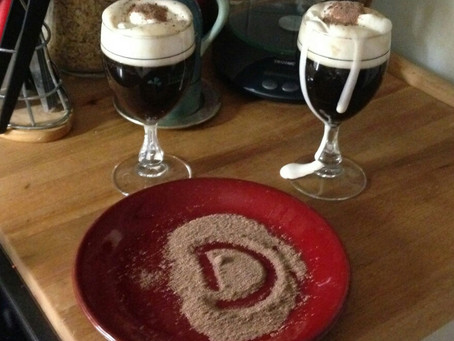Dizee's Irish coffee rings in the season