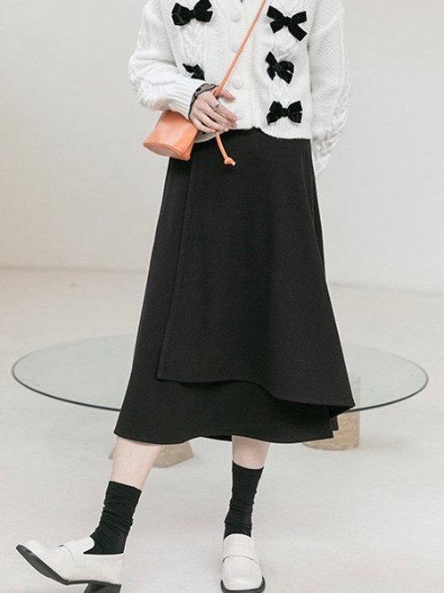 SH751 休閒不規則半身裙