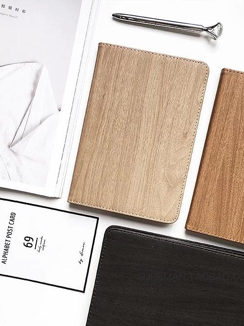 簡約木紋保護殼