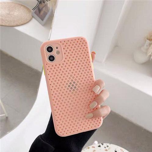 CS314粉色透氣包邊軟殼