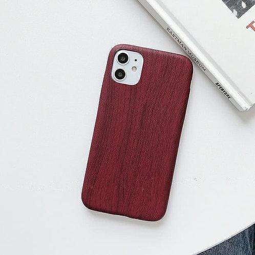 CS123簡約木紋軟殼