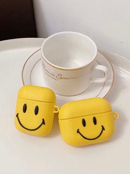 CS733黃色笑臉Airpods保護套