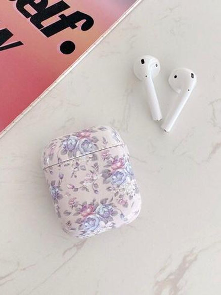 CS455紫玫瑰花Airpods保護套