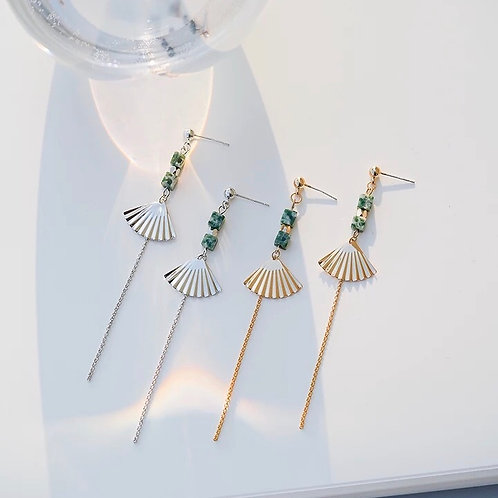 設計感別緻耳環(925銀針)