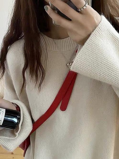 SH583 純色簡約懶人風上衣