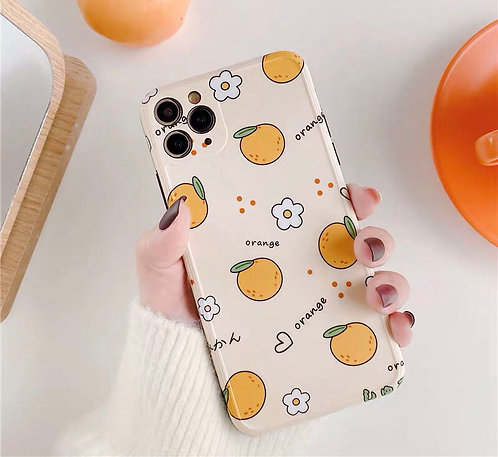 CS295簡約橘子包邊軟殼