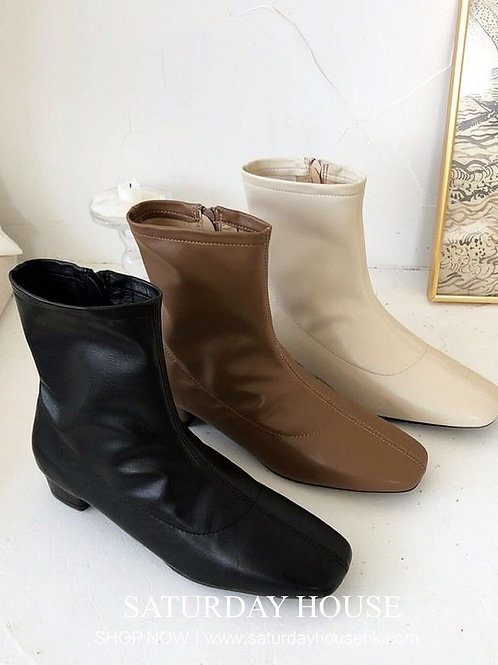 SH212 韓版簡約百搭軟底靴